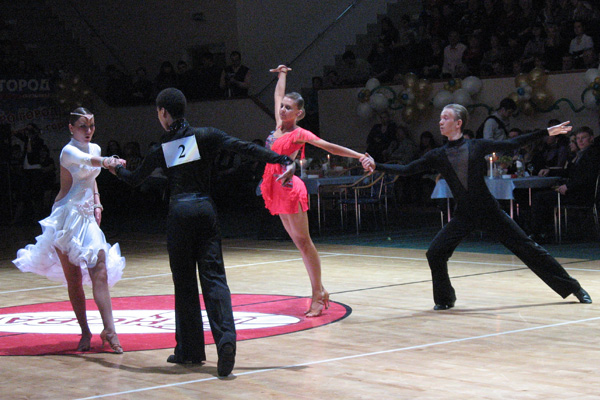 Этот удивительный мир спортивных танцев