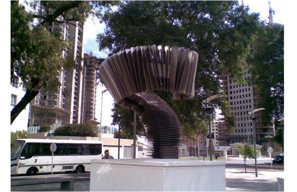 Памятник танго в Аргентине
