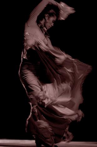 Онлайн-уроки танцев бесплатно. Сложные движения фламенко