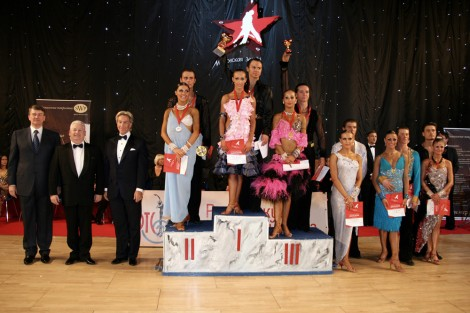 «Кубок Авроры» – соревнования по спортивным танцам в Санкт-Петербурге