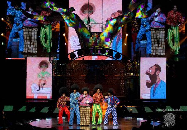 Цирк солнца - Michael Jackson: The Immortal World Tour