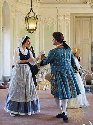 Исторический танец – контрданс