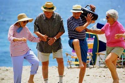Танцев для людей пожилого возраста