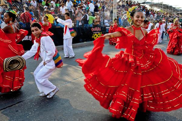 Свобода и эмоциональность колумбийских танцев