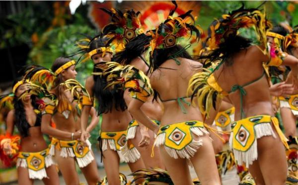 Фоторепортаж с бразильского танцевального фестиваля