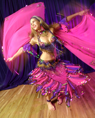 Танец живота. Третий онлайн-урок (видео, фото)