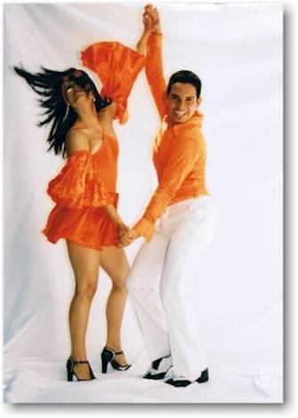 Танец сальса или «Острый соус». Первая порция (фото, видео)
