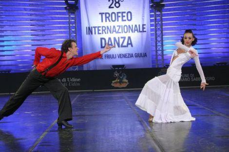Танцевальный праздник INTERNATIONAL DANCE TROPHY в Италии