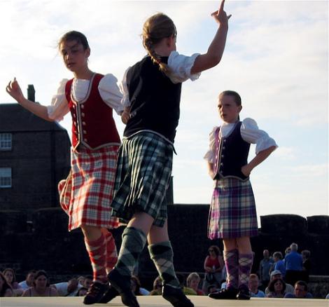 Шотландские танцы в России (фото, видео)