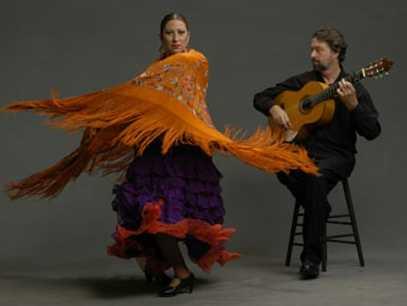 Онлайн-уроки танцев бесплатно. Фламенко. Часть первая
