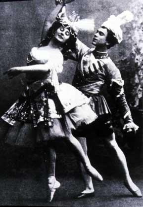 Нижинский и Павлова