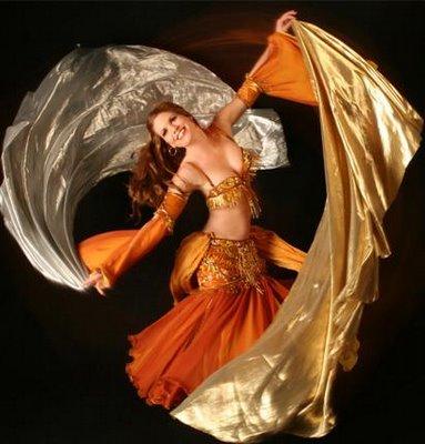 Обучение танцу живота (belly dance). Урок первый (видео)