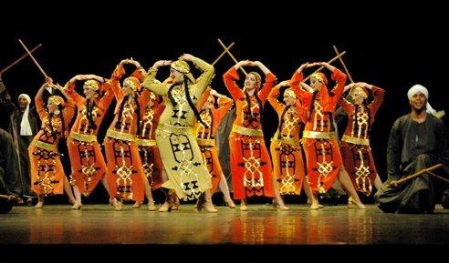 Египетские танцы. Часть 2