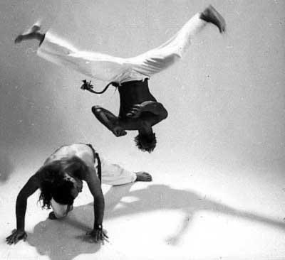 танец капоэйра