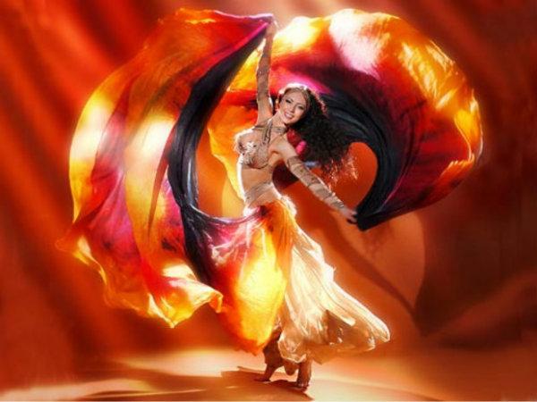 Египетские фольклорные танцы. Часть 2