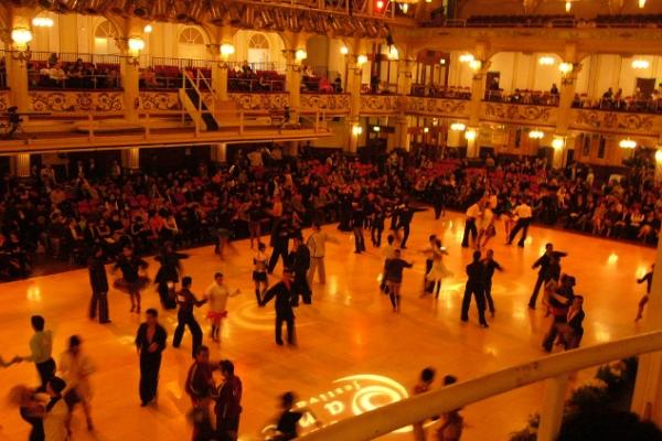 Фестиваль бальных танцев в Блэкпуле