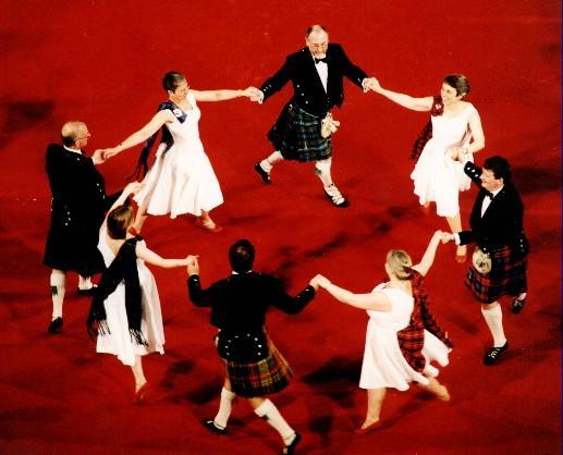 Шотландский балетный танец - дыхание эпохи