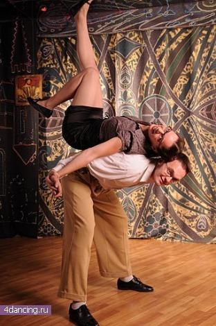 Танец Lindy hop (Линди хоп) - фото и видео