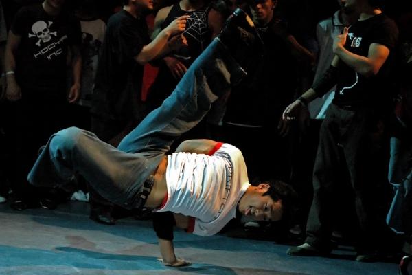 Легенда брейк-данса - корейский би-бой Hong 10