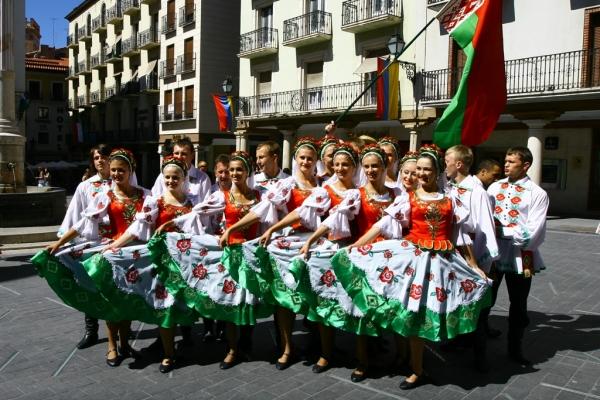 Лявониха - жизнерадостный народный танец Беларуси