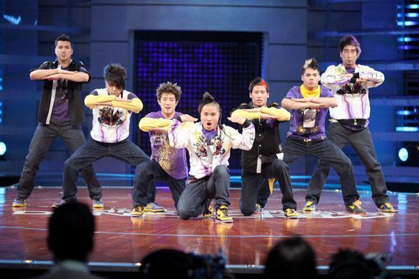 Quest Crew - победители третьего сезона шоу Короли танцпола