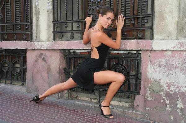 Онлайн-обучение танго. Урок №7. Круг стопой. Продолжение