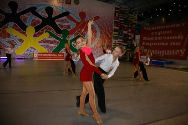 Всемирная танцевальная Олимпиада в Москве
