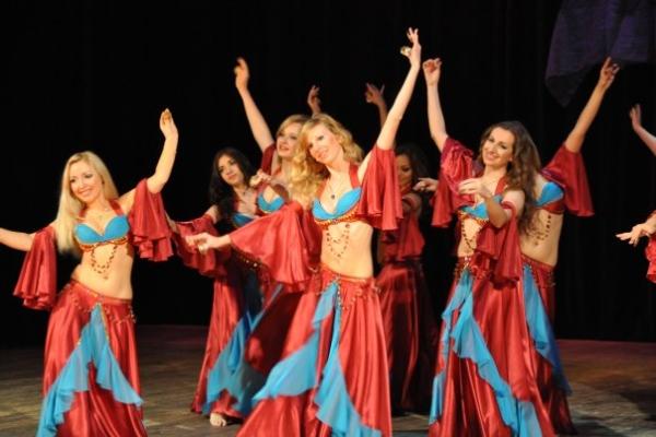 Танец живота с сагатами