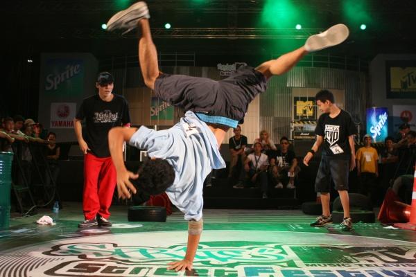 Би-бой Бенни - южноафриканский танцор брейка