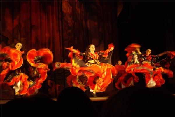 Цыганские танцы - дух свободы