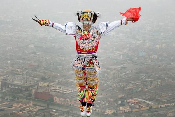 Танец с ножницами – экстравагантная пляска Перу