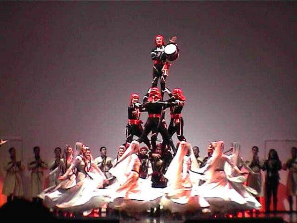 Грузинский танец с саблями (фото, видео)