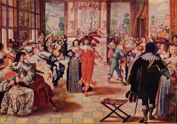 Старинный итальянский танец – гальярда