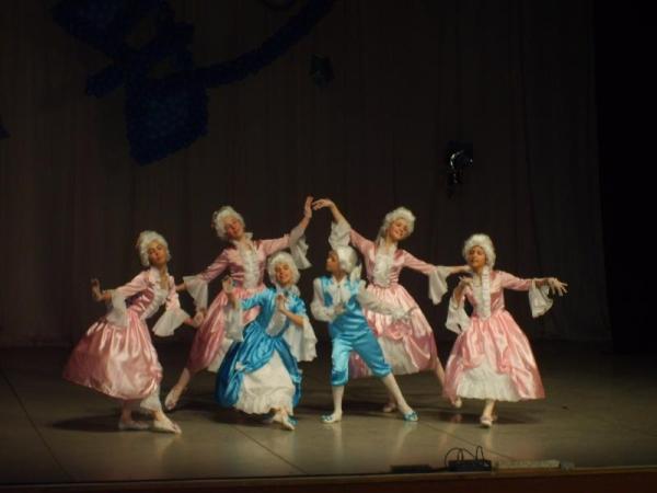 Исторический танец Гавот