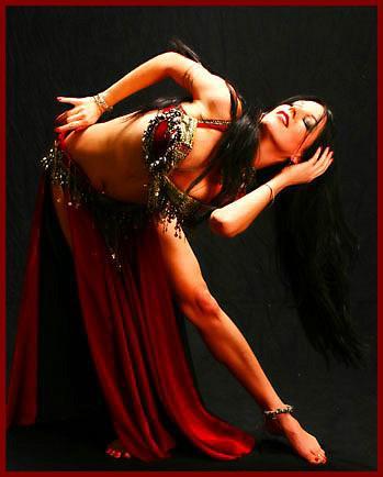 Техника исполнения танца живота халиджи. Часть первая