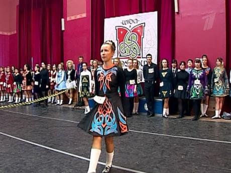 Первый чемпионат по ирландским танцам в Москве