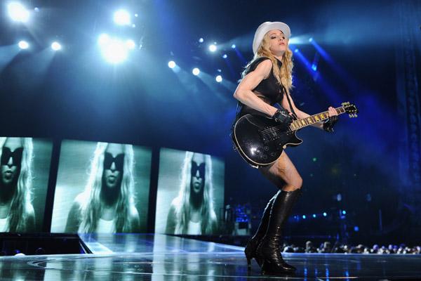 Лучшие танцевальные концерты. Мадонна в Лондоне