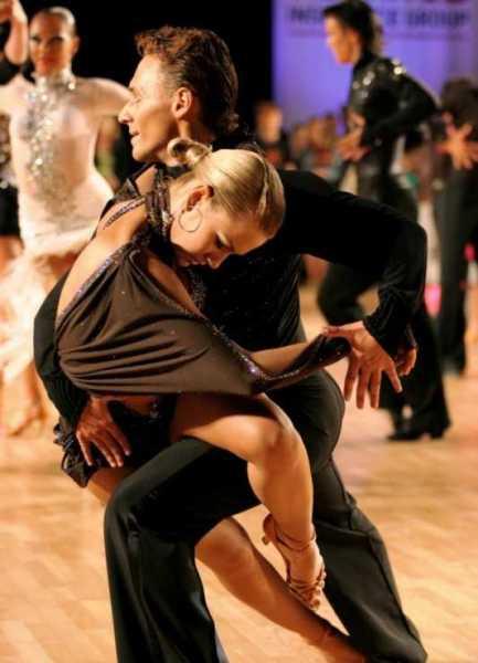 Разминка в бальных танцах