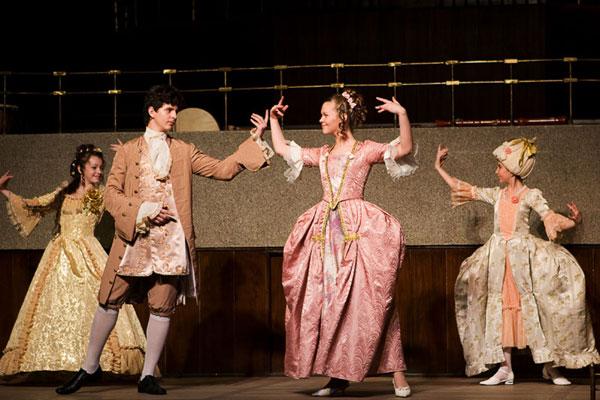 Танец менуэт – дыхание истории