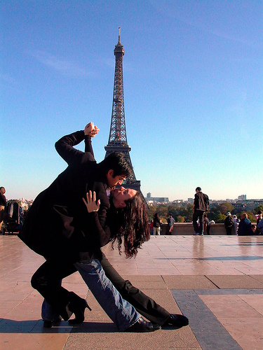 Эффектное и зрелищное парижское танго