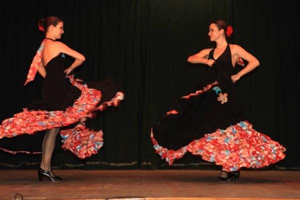 Народный испанский танец малагенья