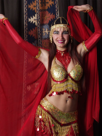 Восточный танец живота (видео)