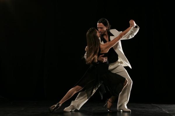 Танго – сольное выступление