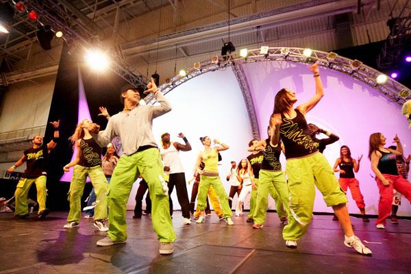 Zumba - идеальное сочетание танца и фитнеса