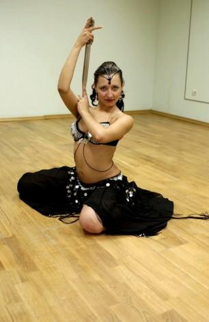 Sword - танец живота (belly dance) с саблей