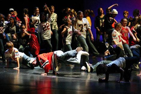 Брейк-данс - живи танцем. Первый онлайн урок (фото, видео)