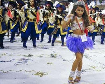 Бразильский карнавал - феерия танца (фото, видео)