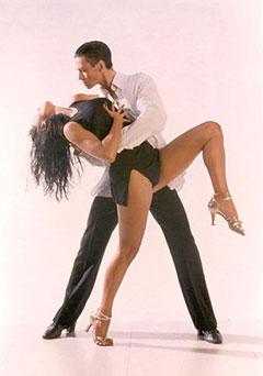 Латиноамериканская программа бальных танцев