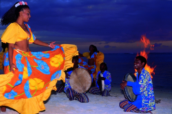 Сейшельский танец сега