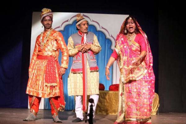 Танцы индийского штата Уттар-Прадеш